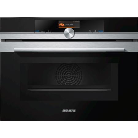 Siemens CM636GNS1 iQ700 compacte oven met magnetron