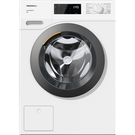Miele WED 335 WPS W1 ChromeEdition wasmachine