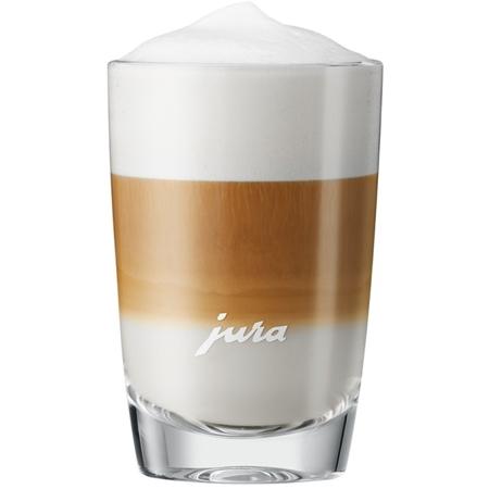 JURA latte macchiato glas 105mm (2 stuks)