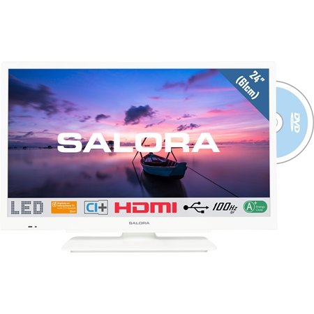 Salora 24HDW6515 HD LED TV met DVD