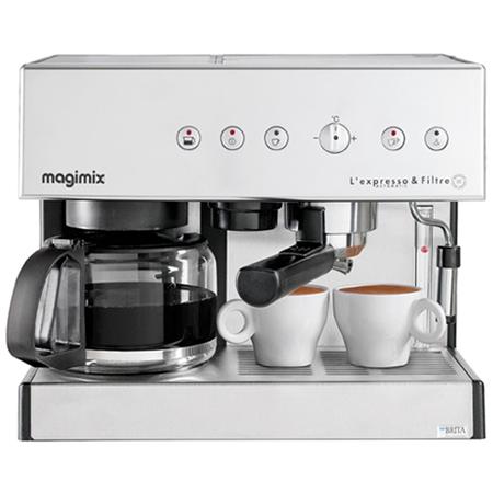 Magimix L'expresso & Filtre Automatic 11423 espressomachine