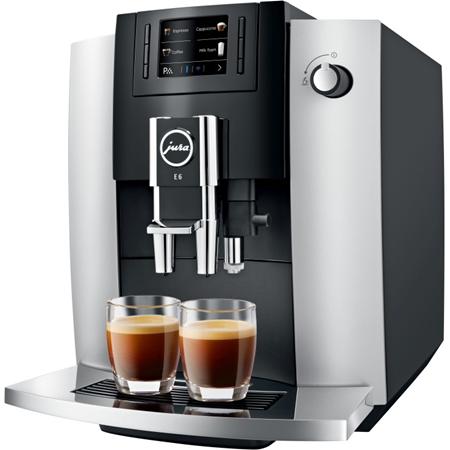 JURA E6 Platina EB volautomaat koffiemachine