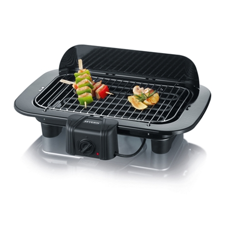 Severin PG8526 zwart Barbecue