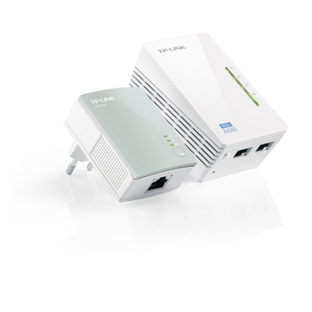 TP-LINK TL-WPA4220KIT Powerline Adapter
