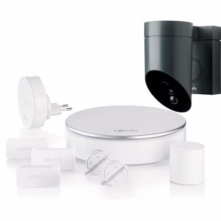 Somfy Home Alarm + Outdoor Camera grijs