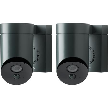 Somfy Outdoor Camera duopack grijs