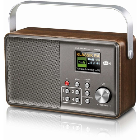 Albrecht DR 860 Senior draagbare DAB+ radio