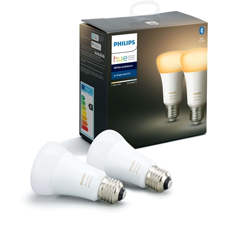 Philips Hue Wit Ambiance 2-Pack E27