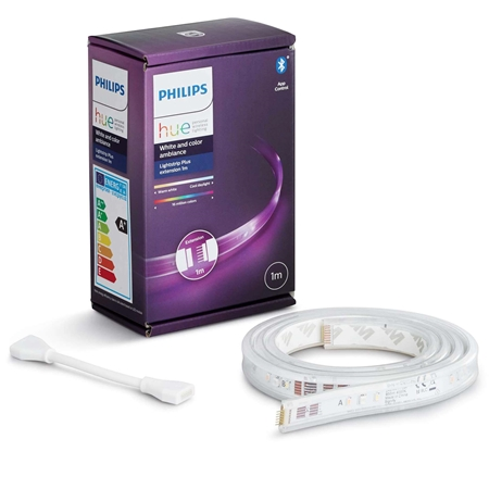 Philips Hue White and Color Ambiance lichtstrip plus verlengstrip 1m