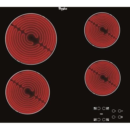 Whirlpool AKT 8090/NE keramische kookplaat