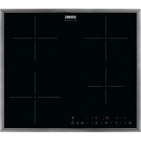 Zanussi ZITN643X inductie kookplaat