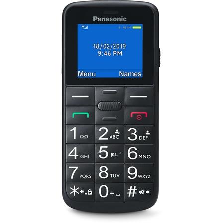 Panasonic KX-TU110EXB Mobiele telefoon zwart