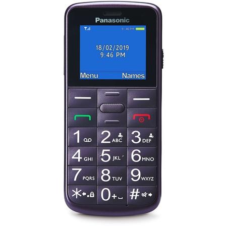Panasonic KX-TU110EXV Mobiele telefoon violet