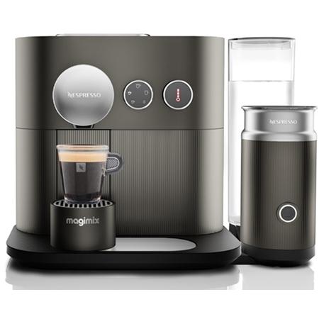 Magimix Expert Nespresso apparaat + M500 melkopschuimer