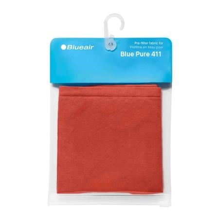 Blueair Blue Pure 411 filterhoes - Saffron Red