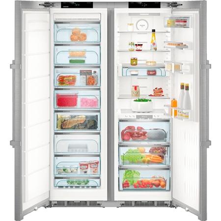 Liebherr SBSes 8773-21 Premium Amerikaanse koelkast