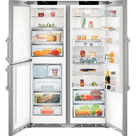 Liebherr SBSes 8483-21 Premium Amerikaanse koelkast
