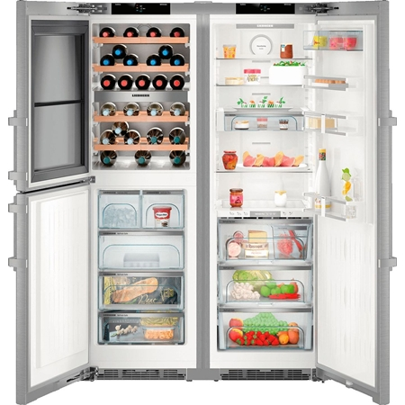 Liebherr SBSes 8496-21 PremiumPlus Amerikaanse koelkast