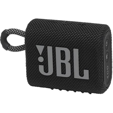 JBL Go 3 Bluetooth speaker zwart
