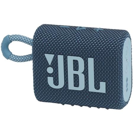 JBL Go 3 Bluetooth speaker blauw