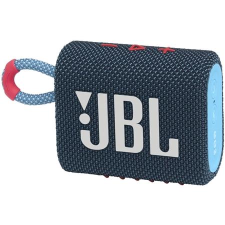 JBL Go 3 Bluetooth speaker blauw-roze