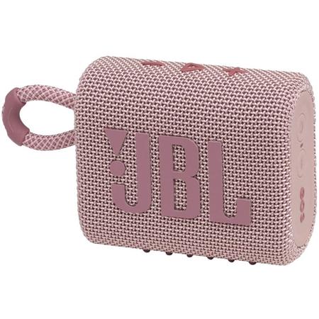 JBL Go 3 Bluetooth speaker roze