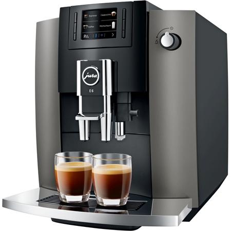 JURA E6 Dark Inox volautomaat koffiemachine