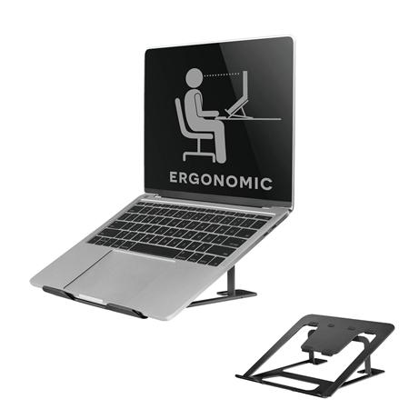 Newstar NSLS085 Laptopstandaard zwart