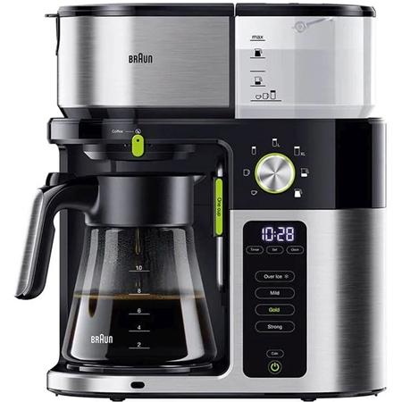 Braun KF 9050 BK MultiServe koffiezetapparaat