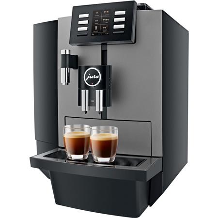 JURA X6 Dark Inox volautomaat koffiemachine
