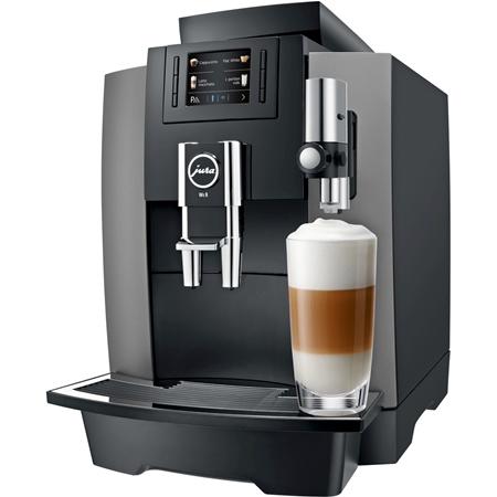JURA WE8 Dark Inox volautomaat koffiemachine