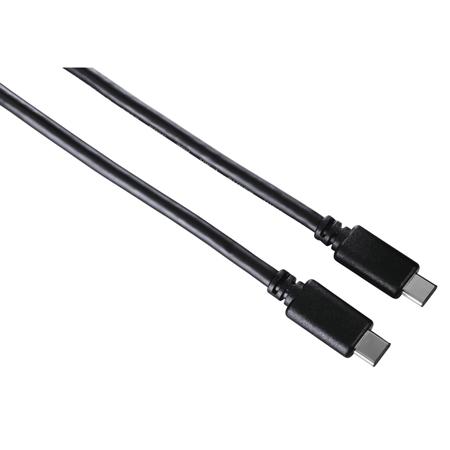 Hama USB-C-kabel, USB 2.0, USB-C-stekker 0,75m