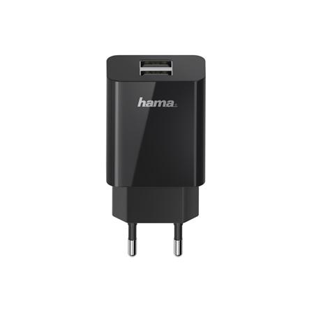 Hama USB-oplader 2-voudig