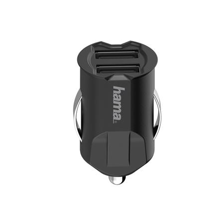 Hama USB-auto-oplader 2-voudig