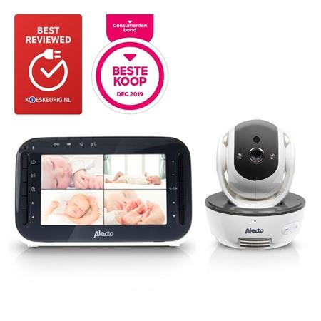 """Alecto DVM-200 Babyfoon met camera en 4.3"""" kleurenscherm"""