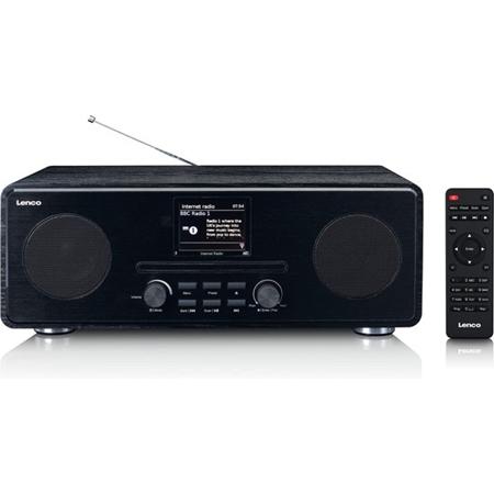 Lenco DIR-260BK DAB+ Internet Radio met Bluetooth