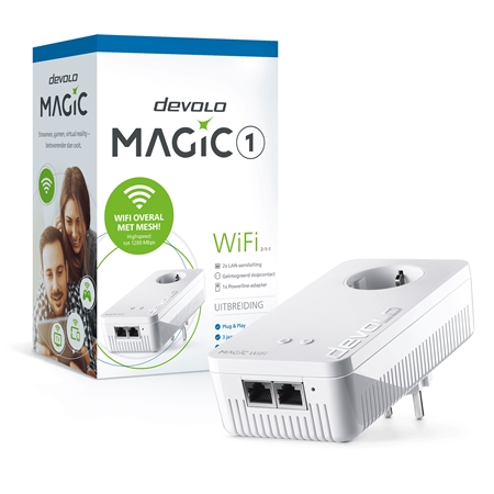 Devolo Magic 1 WiFi Single (uitbreiding) - 8356