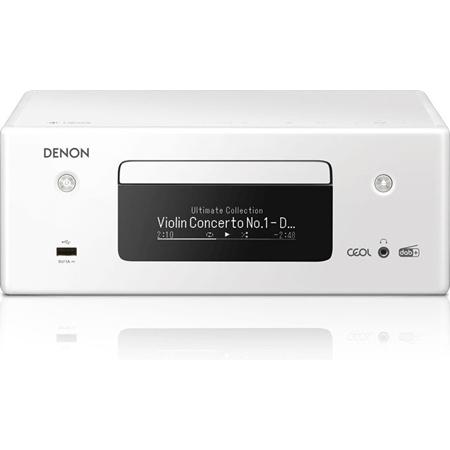 Denon RCD-N11DAB Netwerkmuzieksysteem wit