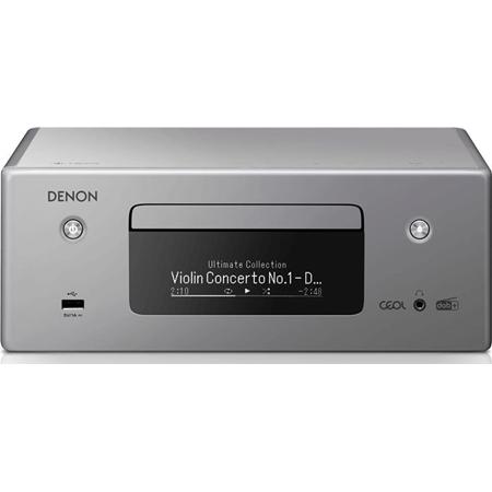 Denon RCD-N11DAB Netwerkmuzieksysteem grijs