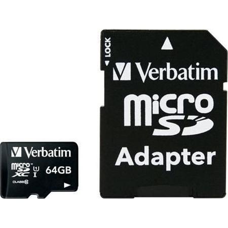 Verbatim MICRO SDXC 64GB