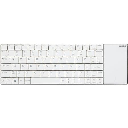 Rapoo E2710 Wireless Multimedia Touchpad Keyboard wit