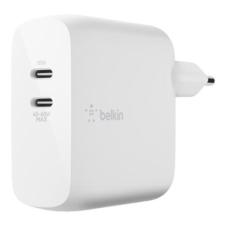Belkin Duo USB C oplader 63W