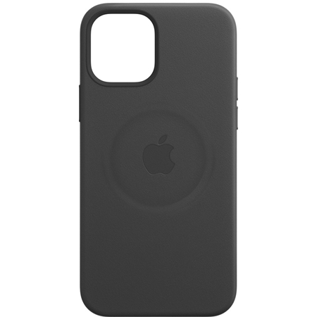 Apple iPhone 12/12 Pro leren hoesje met MagSafe zwart