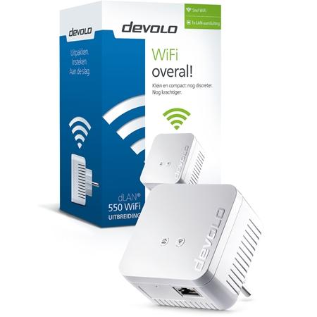 Devolo dLAN 550 WiFi Powerline Single (uitbreiding) - 9629