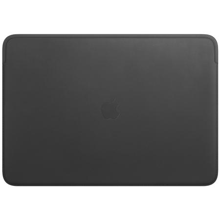 """Apple leren laptophoes voor 16"""" MacBook Pro zwart"""