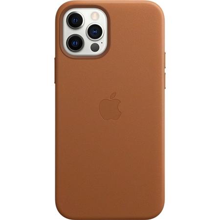 Apple iPhone 12 / 12 Pro leren hoesje met Magsafe bruin