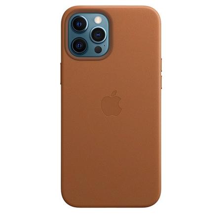 Apple iPhone 12 Pro Max leren hoesje met Magsafe bruin