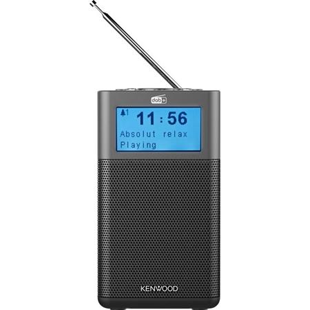 Kenwood CR-M10DAB-H Draagbare radio met DAB+ antraciet