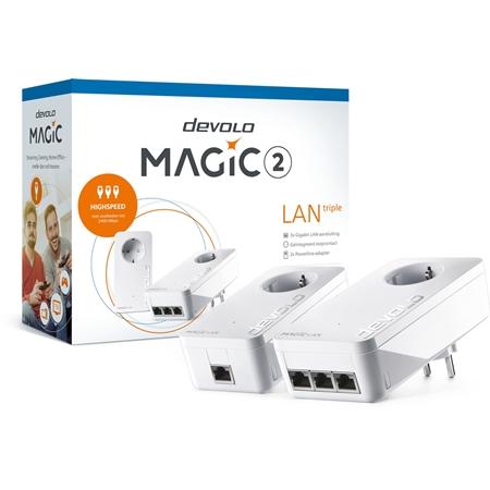 Devolo Magic 2 LAN Triple Starter Kit (2 stations) - 8515