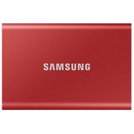 Samsung T7 Externe SSD 500GB rood
